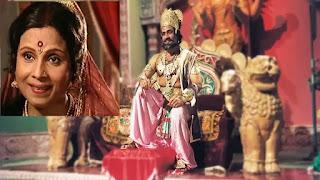 ramayan's dashrath and kaushalya played by bal dhuri and jaishree gedekar