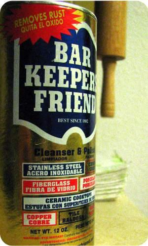 Bar keepers friend ingredients