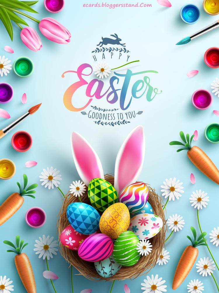 happy easter blessings messages 2021