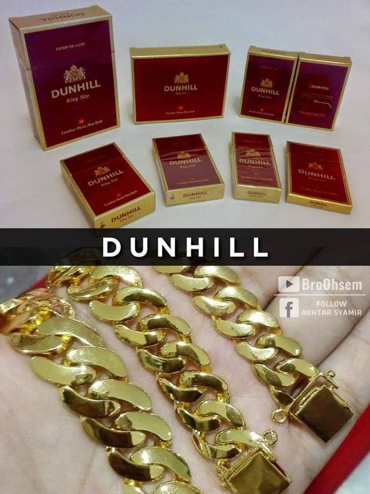 Gelang Emas Dunhill