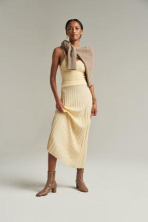 Bec and Bridge Eden Rib Midi Skirt