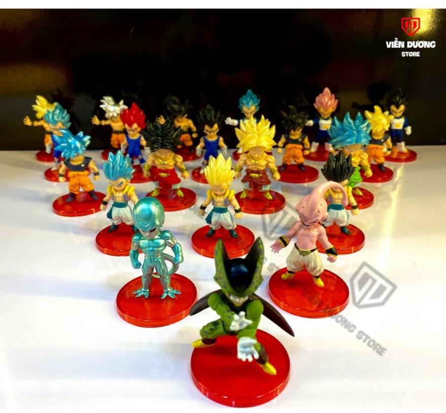 Bộ mô hình Set figure Dragoball nhân vật WCF