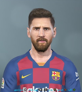 PES 2019 Faces Lionel Messi by Shenawy