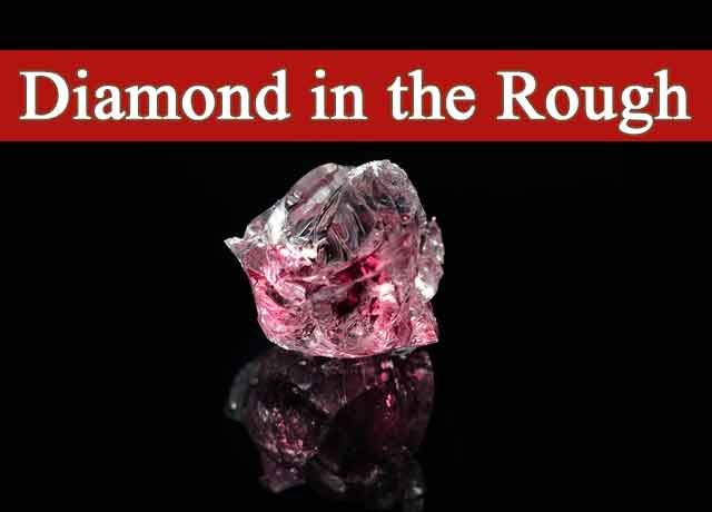 Diamond in the Rough Meaning Easy 100%