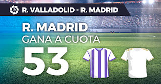 Paston megacuota valladolid vs real madrid 26 enero 2020