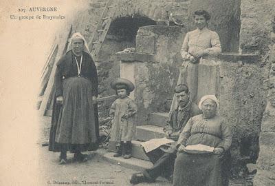 CPA Auvergne les Brayaudes