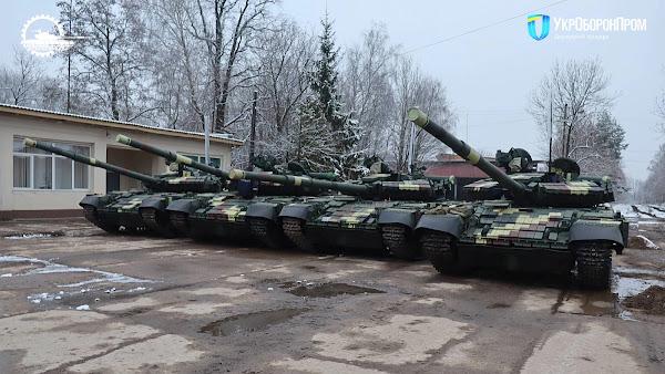 ЛБТЗ передав ЗСУ фінальну партію танків Т-64