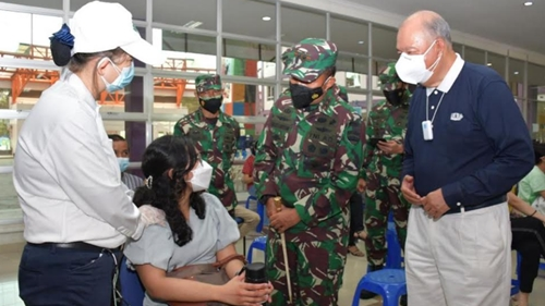 Pangdam I/BB Apresiasi Kepedulian Yayasan Budha Tzu Chi Medan Atasi Pendemi Covid-19