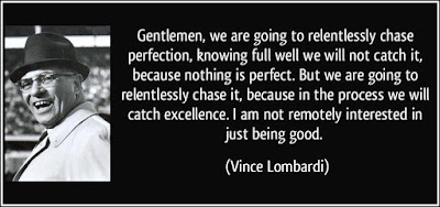 Vince Lombardi Excellence Quotes