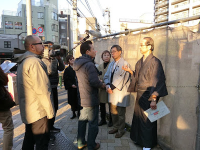 Okubo Street Widening Project, that will divide the walkable Kagurazaka
