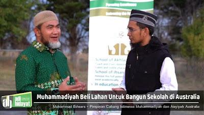 Beli Lahan 10 Hektar, Muhammadiyah Akan Bangun Sekolah di Australia