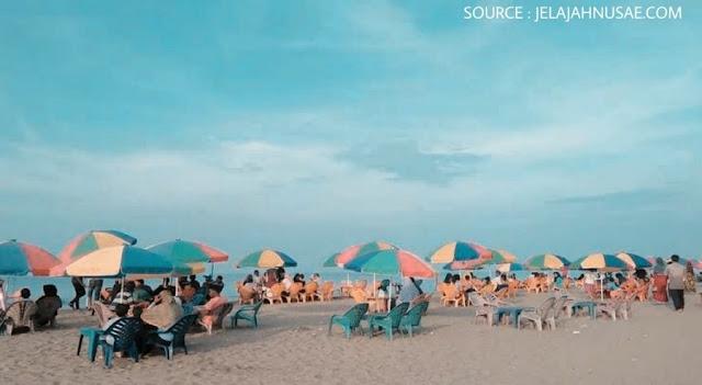 Laot jangka, wisata pantai