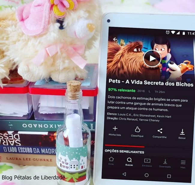 filme, Netflix, Pets-A-vida-secreta-dos-bichos, animacao, blog-literario-petalas-de-liberdade