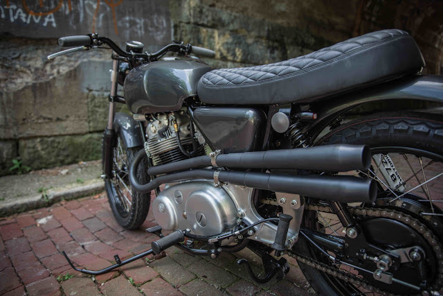 Norton Commando 1974 By The Gas Box Hell Kustom
