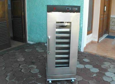 Proofer roti mesin pengembang adonan roti
