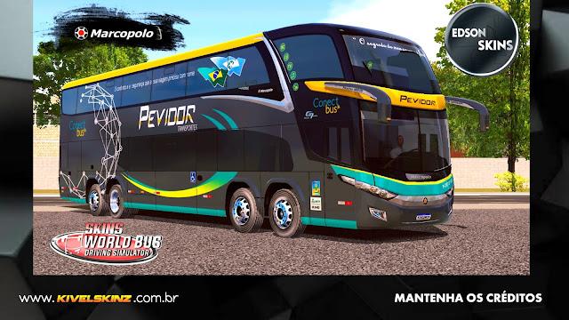 PARADISO G7 1800 DD 8X2 - VIAÇÃO PEVIDOR TRANSPORTES