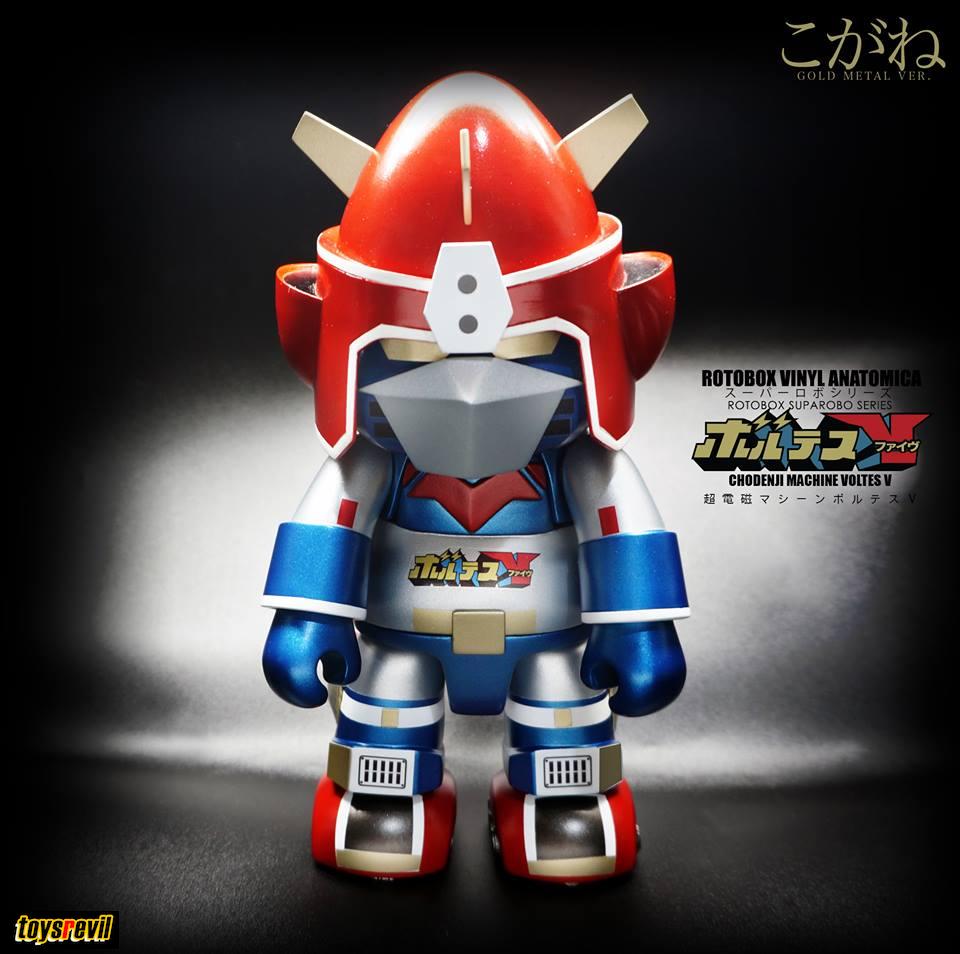 Robots, Monsters & Space Toys Honesty Voltus Shogun Robo-dx Made In Taiwan Vintage Roboter Dead Stock Robots