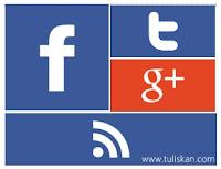 Cara Membuat Widget Social Media Metro Windows 8