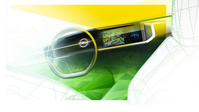 Novo Opel Mokka 2021: painel digital tem teaser divulgado