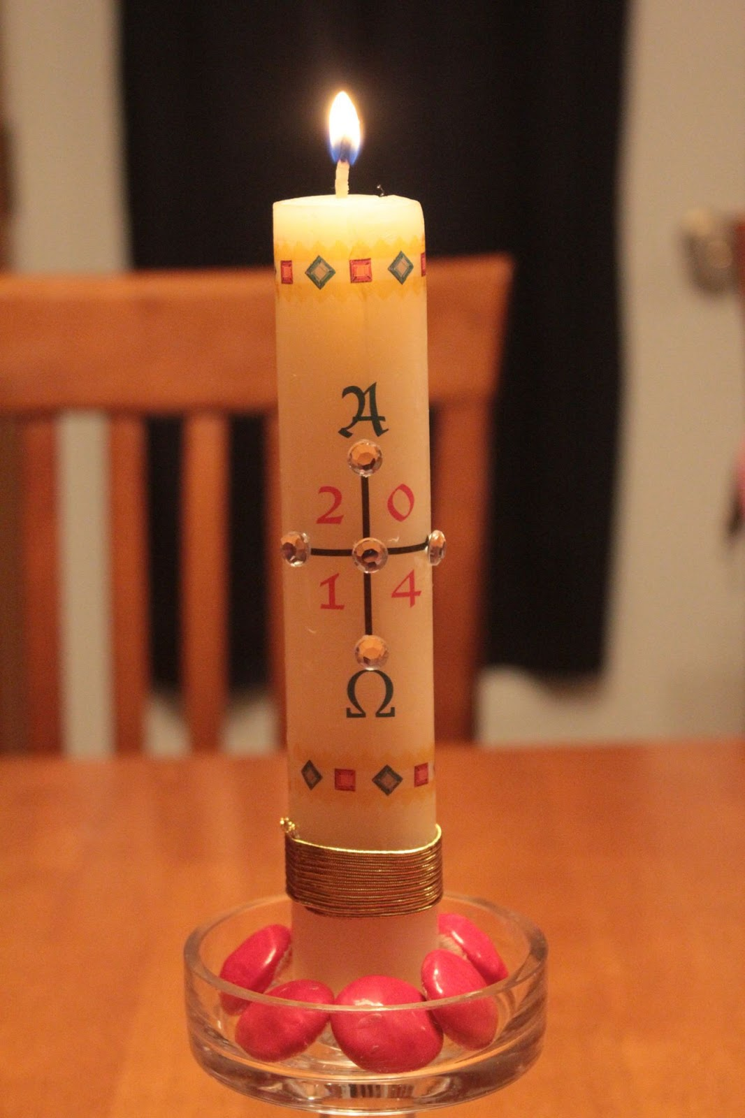 The Significance Of The Paschal Candle At Eastertide Why Do We Use