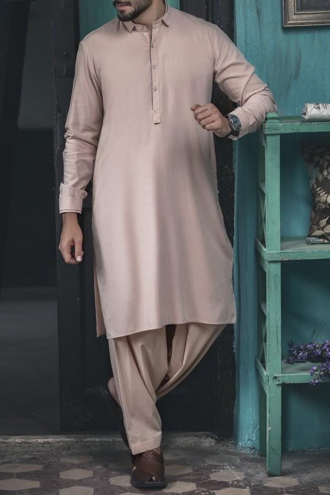 Almirah pink shalwaar kameez men suits collection
