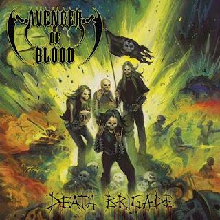 """Το τραγούδι των Avenger of Blood """"Death Brigade"""" από το ομότιτλο album"""