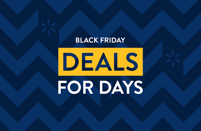 "Walmart Announces ""Black Friday Deals for Days"" + Store Timing 2020"