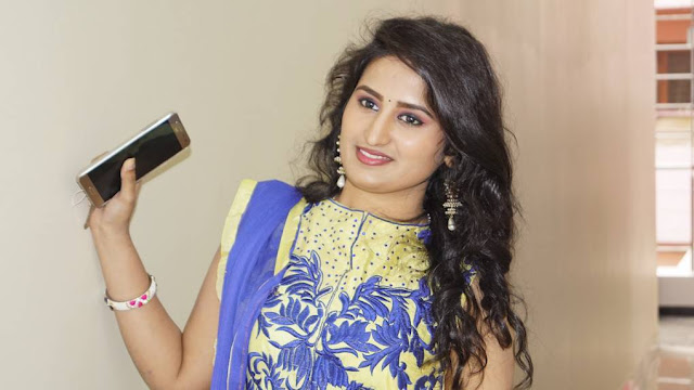 Ankitha Stills At Undha Ledha Movie Promotions