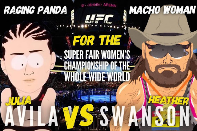 """Raging Panda"" Julia Avila vs ""Macho Man"" Randy Savage  StrengthFighter.com"