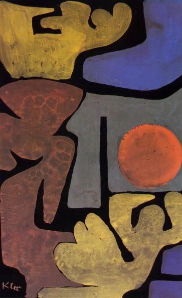 Parque com Ídolos - Paul Klee - (Expressionismo) Suíço