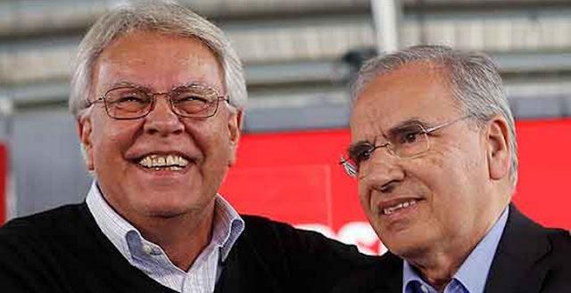 Alfonso Guerra llama al PSOE a apoyar a Rajoy o ir a nuevas elecciones