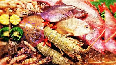 مأكولات بحرية لنظام الكيتو