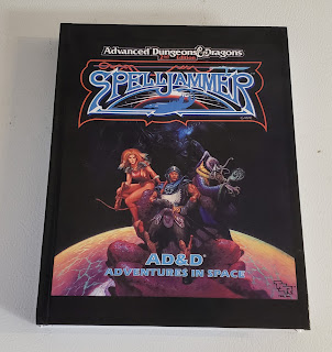 Covers of the Spelljammer book