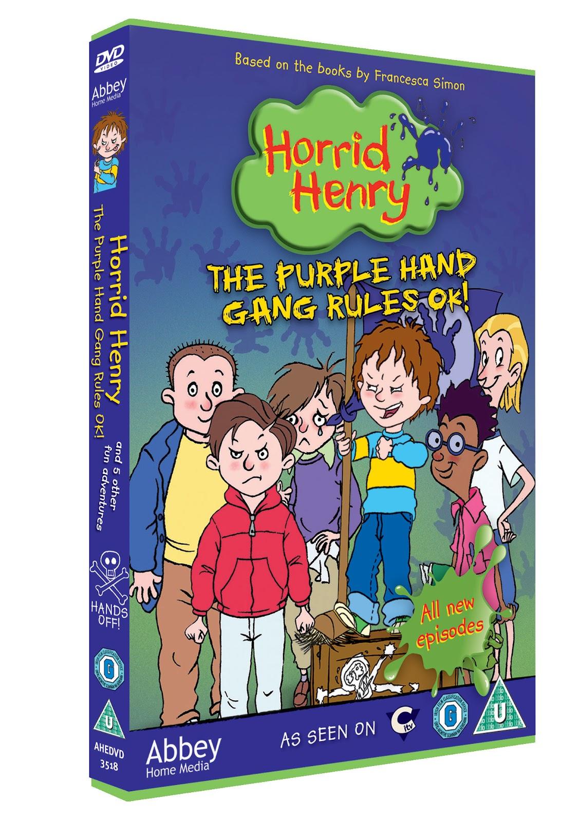 Horrid Henry The Purple Hand Gang Rules Ok Dvd Review