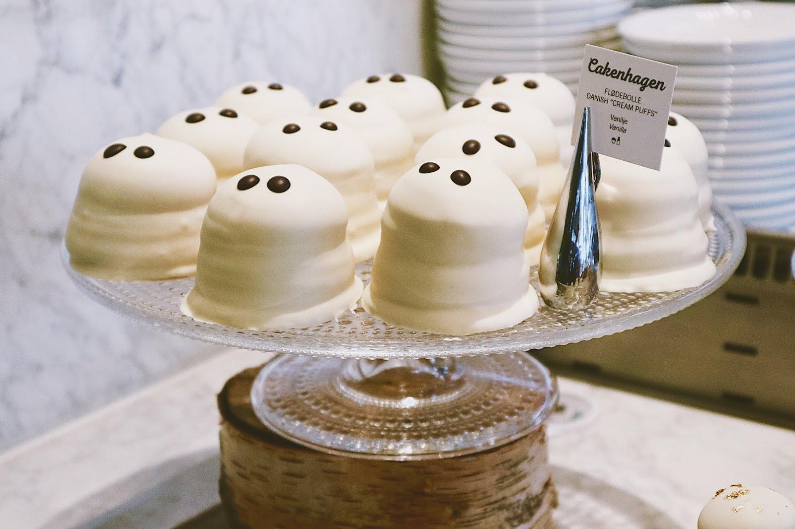 ghost cream puff cakes Copenhagen