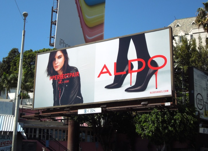 Kel markey Aldo Shoes Perfect Pair F/W 2014 billboard