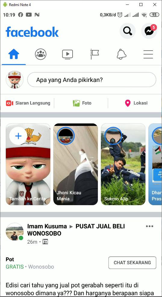 Cara Menghapus Teman Facebook - Panduanit