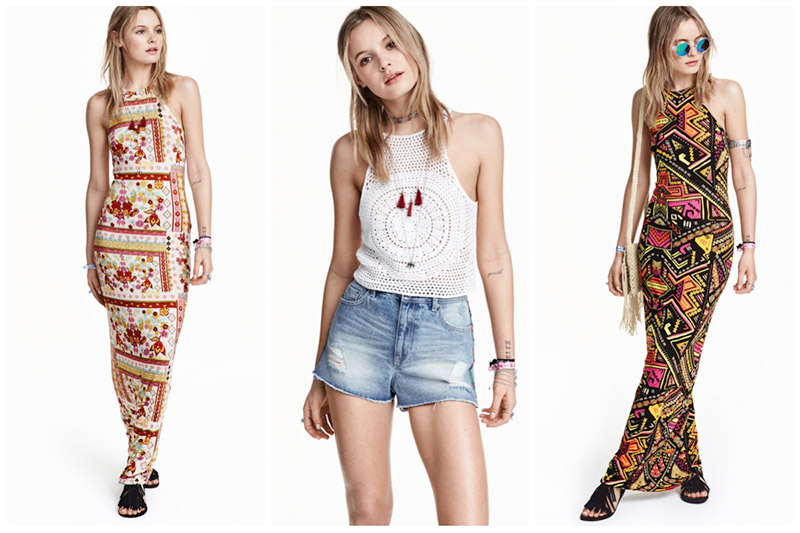 H&M Coachella Lookbook 2016