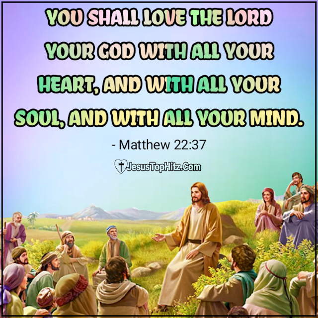 Today Bible Verse | 21-08-20 | Matthew 22:34-40