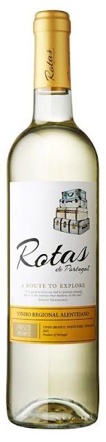 Rotas de Portugal Vinho Regional Alentejano Branco 2015