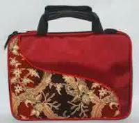 tas seminar laptop batik w30