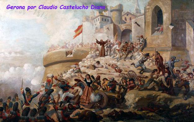 El asedio de Gerona, Historia de España, Pintura militar española