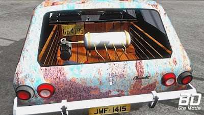 Mod , Carro , Caravan 1979 Ratlook para GTA San Andreas, GTA SA