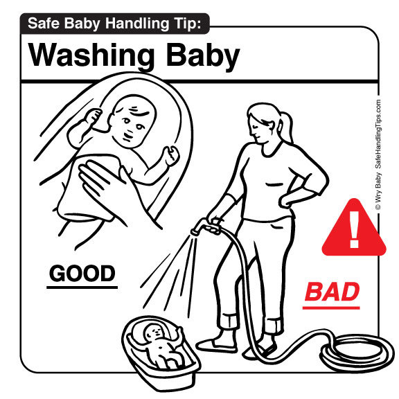 Baby Do's and Don'ts - Washing Baby