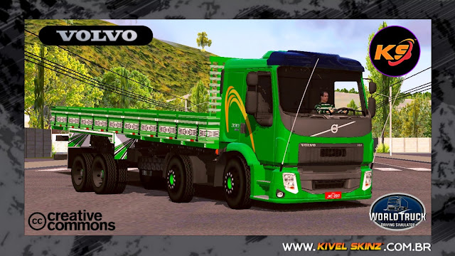 VOLVO VM - GREEN TOP