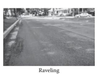 التدهور والتآكل - Raveling