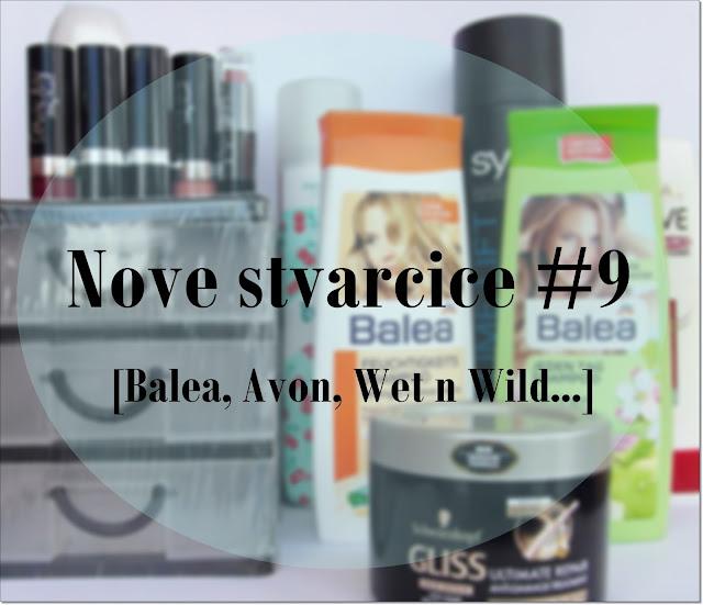 Nove stvarčice #9 [Balea, Avon, Wet n Wild...]