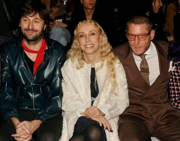 Francesco Vezzoli, Franca Sozzani, Lapo Elkann, Moschino Fashion Show, Moschino Fall Winter, fashion show