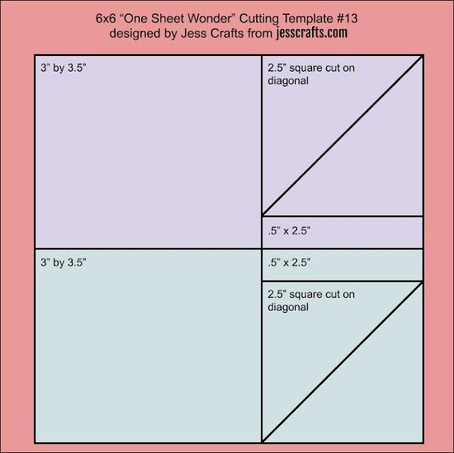 One Sheet Wonder Template #13 by Jess Crafts