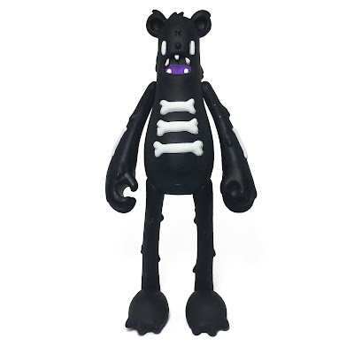 Shadow Dead Bear Vinyl Figure by Nicky Davis x Martian Toys
